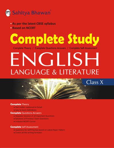COMPLETE STUDY ENGLISH LANGUAGE & LITERATURE 10-0