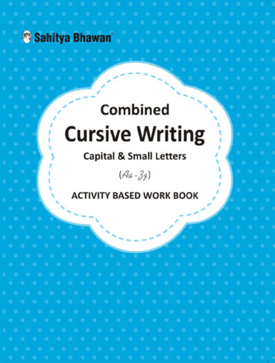 Combined Cursive Writing Capital & Small Letters (Aa-Zz) Activity Based Work Book-0
