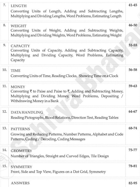 Maths Work Book 3-7060