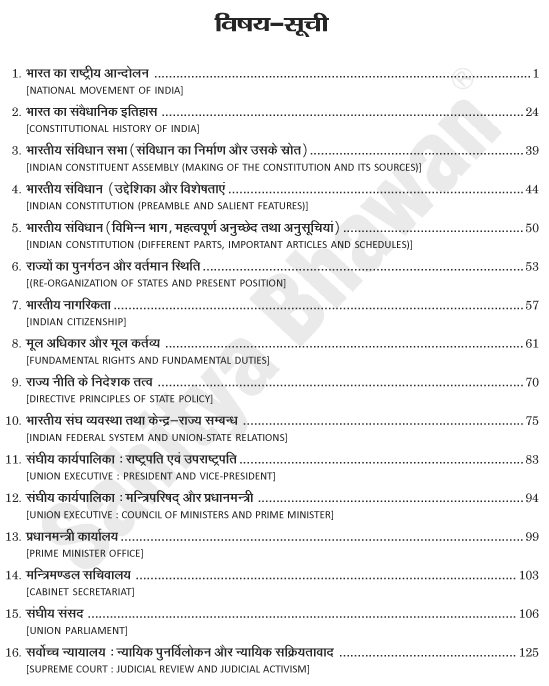 Bhartiya Rajvyanvastha Evam Samvidhan CSAT-6973