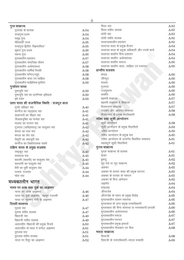SAMANYA ADHYAN PAPER-I ...Hindi Edn-6483
