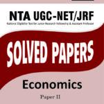NTA UGC NET ECONOMICS SOLVED PAPERS PAPER II-0