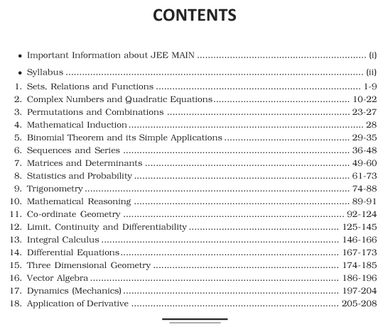 JEE MAIN CHAPTERWISE SOLVED PAPER MATHEMATICS-6737