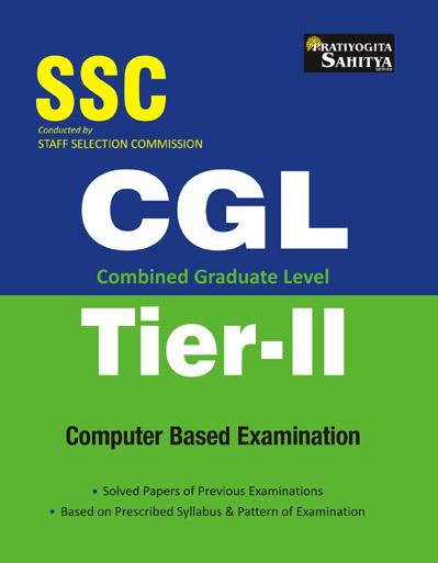 Sahitya Bhawan | Pratiyogita Sahitya SSC Combined Graduate Level Tier 2 exam book in English
